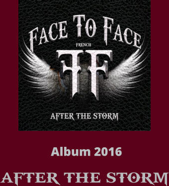 Album 2016  AFTER THE STORM